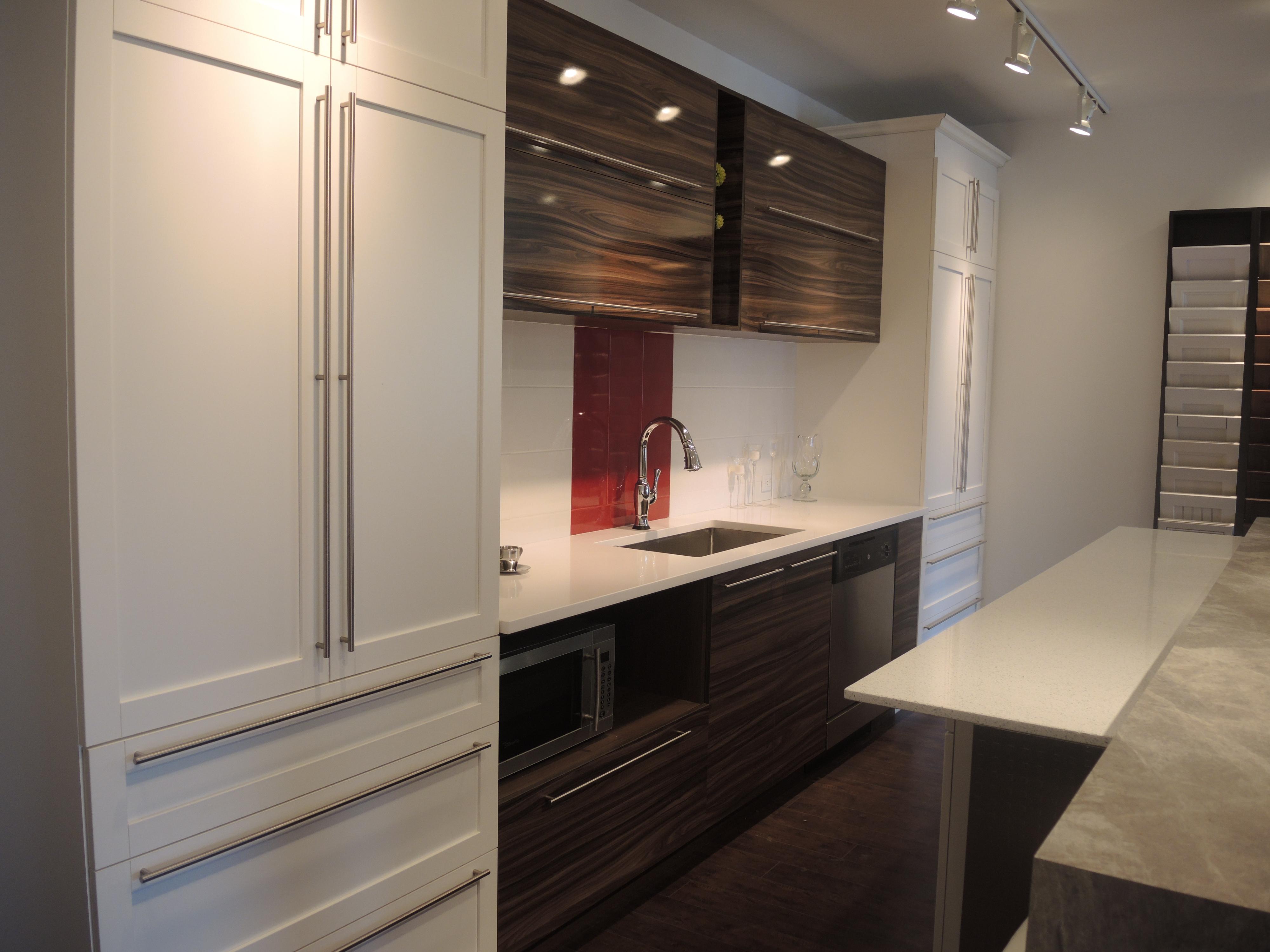 Panneau Melamine Noir Mat armoires xcetera: fabricant d'armoires de cuisine haut de